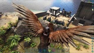 ARK Survival Evolved Одиночка 64 - 15 часов за 10 минут