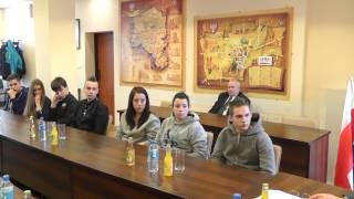 ZST spotkanie młodzieży z burmistrzem