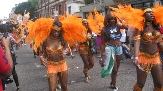 Sexy Dancers at Noting Hill Carnival 2013 by Prime Cleaning London