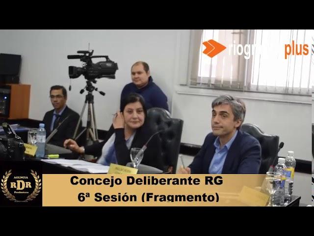 6ª Sesión Concejo Deliberante Río Grande Fragmento