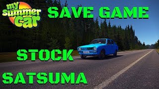 Stock Original Complete Satsuma Save Game - My Summer Car #90