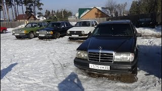mercedes W124 Замена радиатора печки