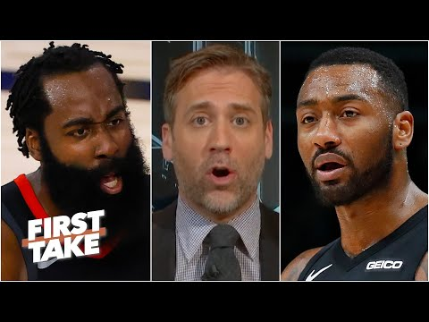 James Harden has to leave the Rockets, he will never win a title with John Wall - Max | First Take