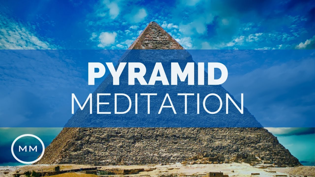 Pyramid Meditation - 33 Hz - King's Chamber + Outside Frequency - Binaural  Beats - Meditation Music