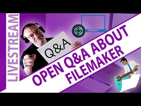 FileMaker Open Q&A - 06.21.20