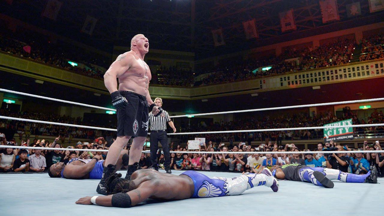 WWE Network: Kofi Kingston vs  Brock Lesnar: Brock Lesnar