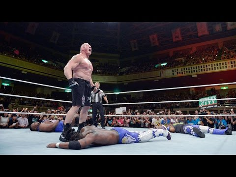 WWE Network: Kofi Kingston vs. Brock...