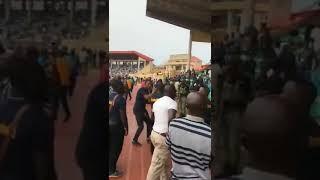'Ole' - Ekiti APC Delegates attack Minister, Kayode Fayemi