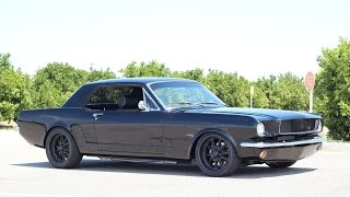 1965 mustang Pro Touring Walk Around