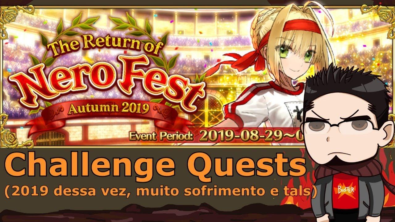 [Fate Grand Order] NeroFest - Challenges 2019