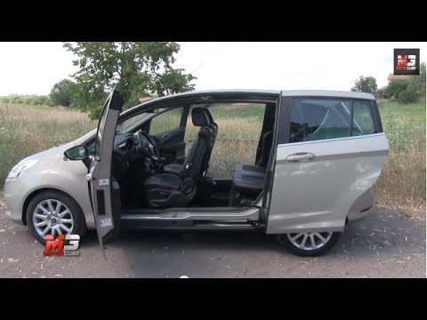 ford b max 1 4 gpl 86 cv 2014 test drive youtube. Black Bedroom Furniture Sets. Home Design Ideas