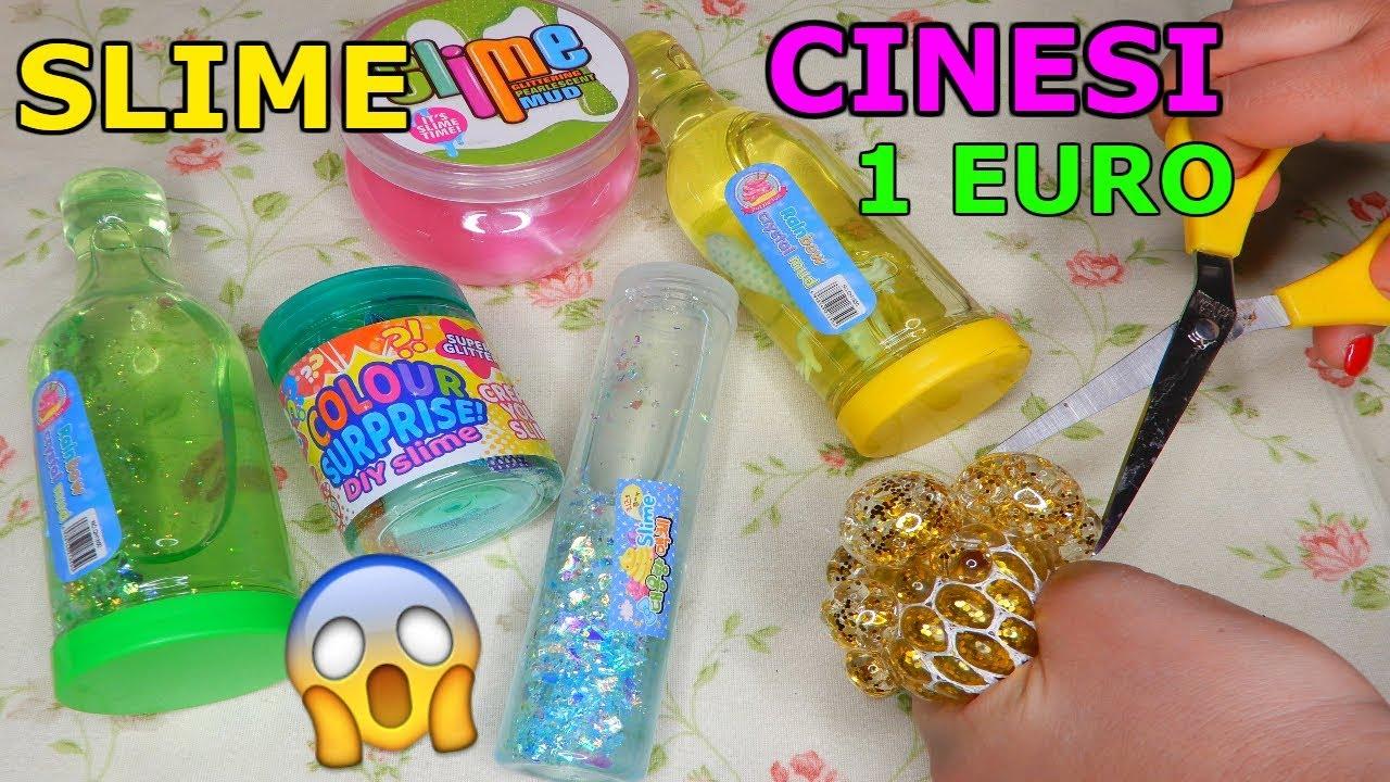 SLIME CINESI COMPRATI AD 1 EURO! COME SARANNO? Iolanda Sweets