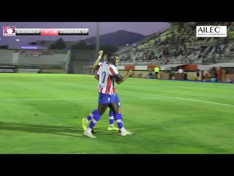 El Algeciras pierde con contundencia ante el Córdoba en el tercer partido de la pretemporada