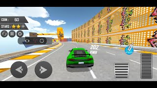 Mega Ramp Car Stunt Driving Games Deadly Tracks Mode   Car Games   A Gaming Channel   #28072021 screenshot 1