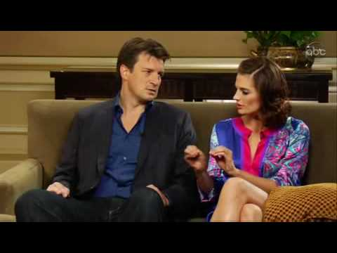 Stana Katic and Nathan Fillion Top 5 questions