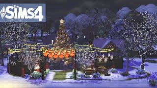 The Sims 4 Speed build - Christmas Time #10