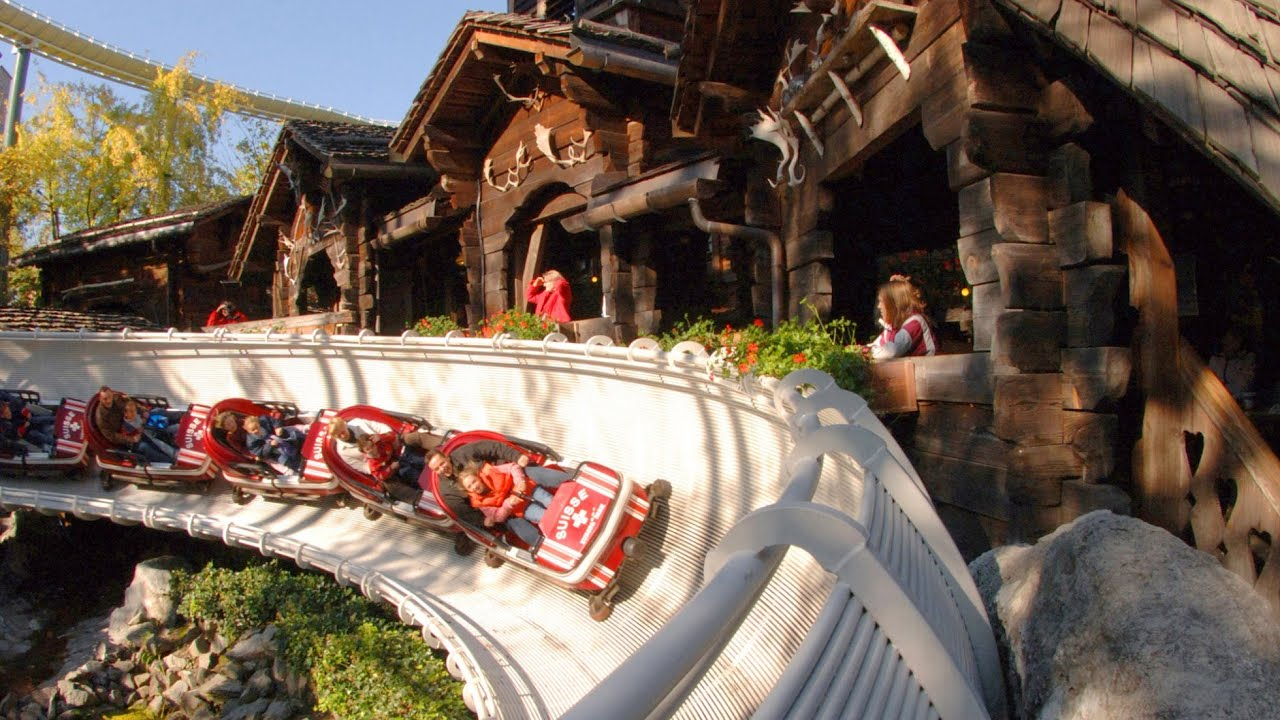 Swiss Bob Run Onride Europa-Park - YouTube