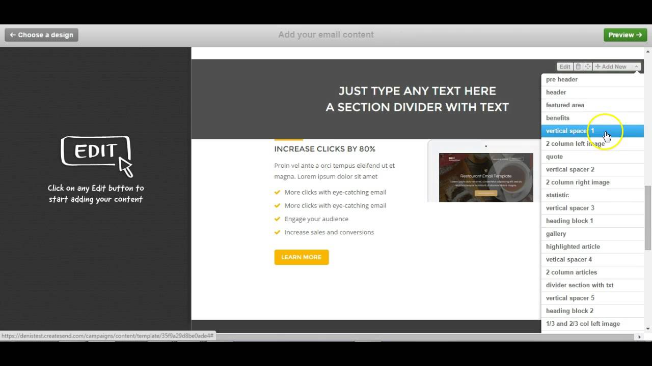 Custom Campaign Monitor Responsive Email Template - Rockmail - YouTube