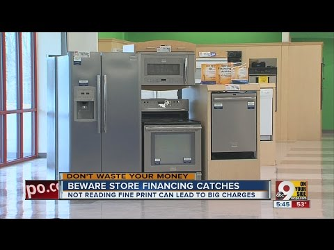 90 days same as cash? Beware store financing catches