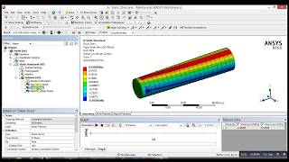 ANSYS Mechanical Tutorial -Torsion Stress and Max Shear Stress