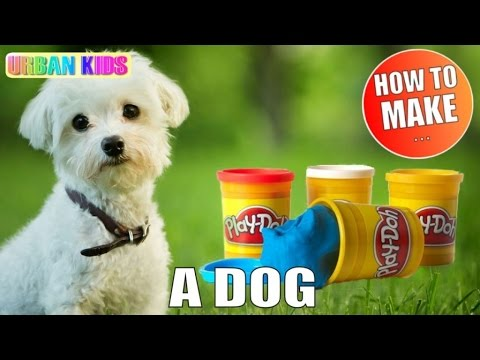 PLAY DOH (3MIN) ► HOW TO MAKE A DOG IN 3 MIN ► HUND ►UN CHIEN