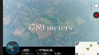 DJI Phantom 4 Pro полет на 4790 метров