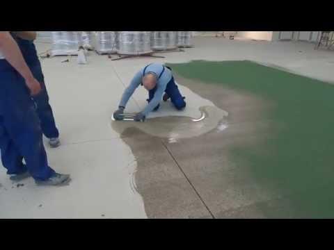 видео: Как выполнить Эпоксидный Пол с Кварцевым Песком   bautech