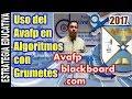 Dinámicas de Algoritmos en @AvafpCol para la enseñanza