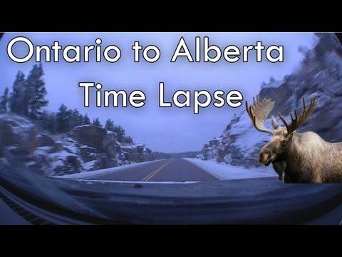 Time Lapse | Ontario to Alberta | Very Scenic | 2O12