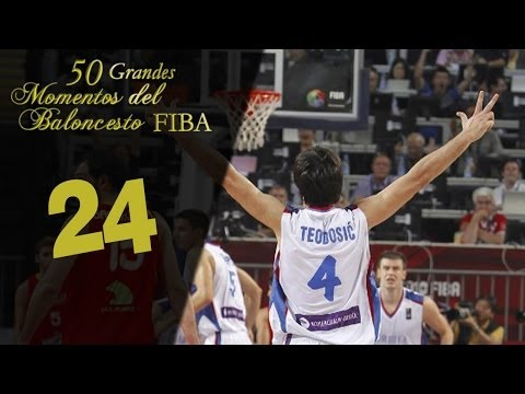 Milan Gurovic crazy three to force OT vs. Greece from YouTube · Duration:  44 seconds