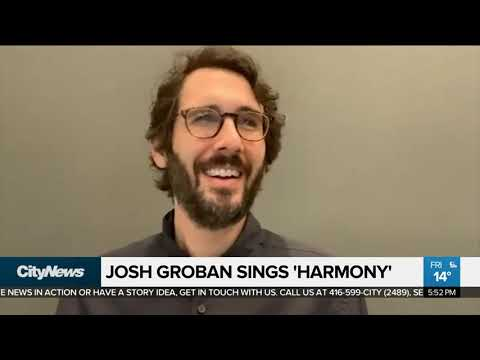 Josh Groban Brings 'Harmony' to 2020