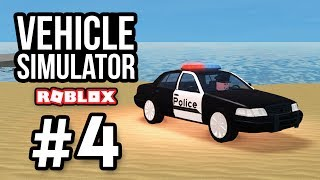 POLICE PATROL - Roblox Vehicle Simulator #4