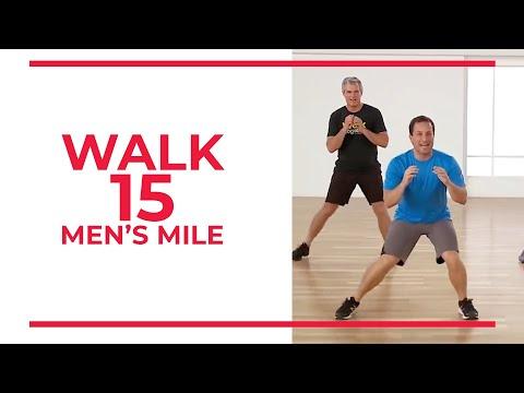 Walk 15 Mens Mile | Walk at Home