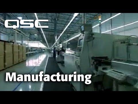 QSC Audio - Building Legends: Manufacturing