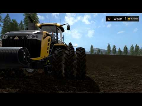 Biggest Planting of Wheat EVER   On GoldCrest Valley   88 hectare   Farming Simulator 17