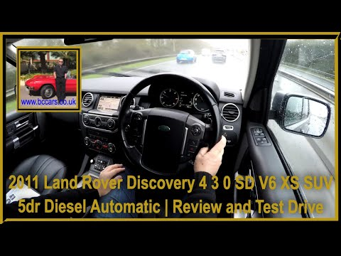 Virtual Video Test Drive In Our Land Rover Discovery 4 3 0 SD V6 XS SUV 5dr Diesel Automic