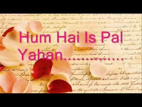 Hum Hain Is Pal Yahan solo female covered by Sangeeta Samal