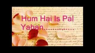 Hum Hain Is Pal Yahan solo female covered by Sangeeta Samal