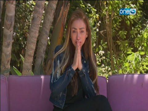 ريهام سعيد تعتذر للجمهور بعد خروجها من السجن