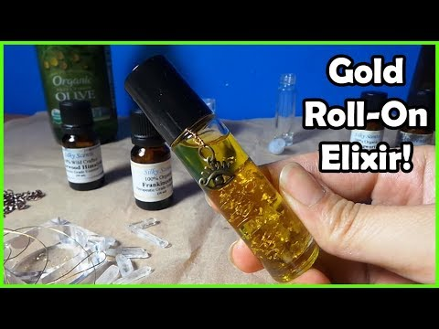 DIY Gold Roll On Oil Elixir !?!
