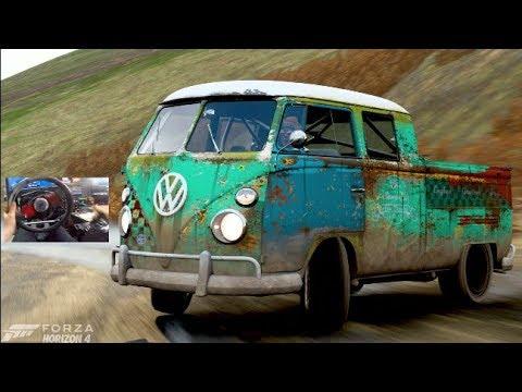Forza Horizon 4 GoPro - 1966 Double Cab Volkswagon Pickup - 900HP AWD Build thumbnail