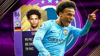 FIFA 18 POTM 86 SANE REVIEW - PLAYER REVIEW FOR POTM LEROY SANE FIFA 18 ULTIMATE TEAM