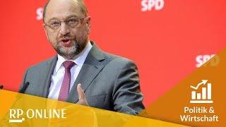Martin Schulz: SPD steht für große Koalition nicht zur Verfügung
