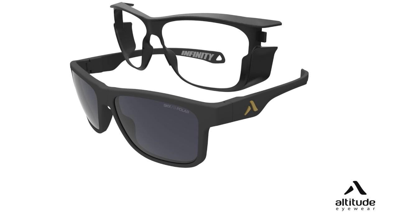 Altitude De Eyewear Amovibles Lunettes Avec Soleil Coques Infinity QoExrdCeWB