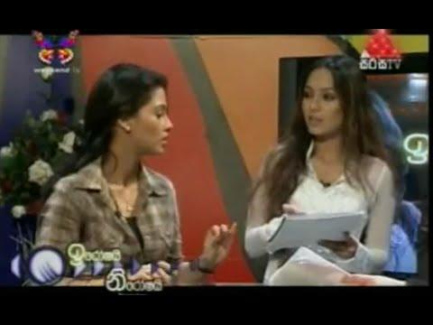 Pooja Umashankar With Iroshai Niroshai On Sirasa TV