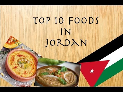 Top 10 Foods in Jordan | A Must Watch Video | 2017