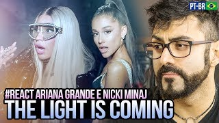 Baixar REAGINDO a Ariana Grande - the light is coming ft. Nicki Minaj