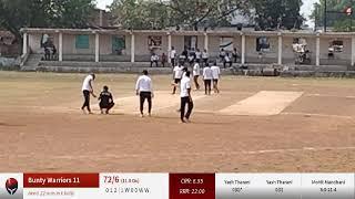 Live Cricket Match | Gabbar Ke Sher vs Bunty Warriors 11 | 28-Oct-21 07:37 AM 12 overs | BHATAPARA -