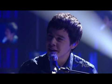 David Archuleta  Imagine  American Idol season 9  april 7 2010 HQ