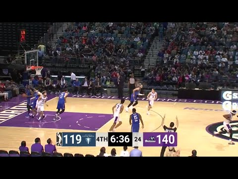 Reno Bighorns with 20 3 pointers  vs. Texas Legends